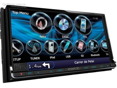 2din авто магнитола KENWOOD DNX9210BT