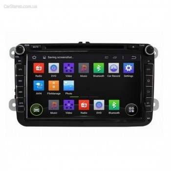 Штатная магнитола InCar AHR-8684 для автомобиля Volkswagen Golf VI (Android 4.4.4) 8,0""