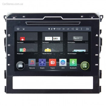 Штатная 2din магнитола InCar AHR-2239 для автомобиля Toyota Land Cruiser 200 2016+ (Android 4.4.4) 9,0""